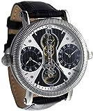 Aeromatic A1385 Automatic 2Xquartz «Dualtime» Classic-Design Watch