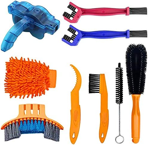 YYKS YICHAOT Bike Cleaner Tool Kit Bicycle Chain Cleaning Brush Tool Set Suitable for Chain product image