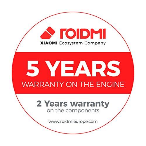 Roidmi F8 Lite - Aspirador sin cable, versión EU en Español, 80.000 RPM, batería hasta 40 minutos, depósito 0.4L, color azul
