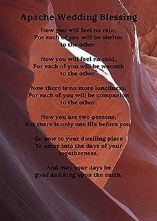 Imagekind Wall Art Print entitled Apache Wedding Blessing On Canyon Photo by Alan And Marcia Socolik | 11 x 15