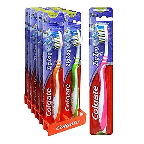 Colgate Zig Zag Medium Zahnbürste (Blister) 12 Stück