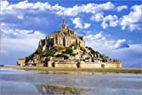 Poster 90 x 60 cm: Mont Saint Michel von Editors Choice -