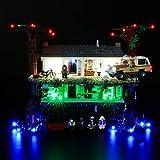 BRIKSMAX Kit di Illuminazione a LED per Lego The Upside Down,Compatibile con Il Modello Lego 75810 Mattoncini da Costruzioni - Non Include Il Set Lego.