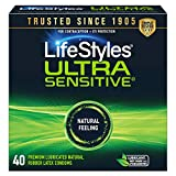 LifeStyles Ultra Sensitive Condoms, 40ct