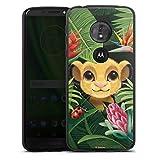 Coque en Silicone Compatible avec Motorola Moto G6 Play Étui Silicone Coque Souple Le Roi Lion...
