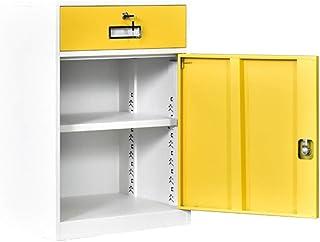 RUCC Meuble de rangement court de données de meuble de rangement de meuble de rangement de cabinet de tiroir en métal de b...