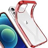 LaimTop iPhone 12 Mini Hülle, Leicht Transparent Klar Gel