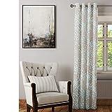 Cortina Ramas Azules | Medidas 140x245 cm en Material Tejido poliéster Backlight translúcido de 185 Gramos | Decoración Hogar