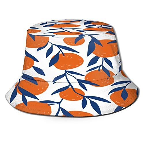 Sombrero de Pescador Unisex Diseño de Cartel de Verano Vintage Vector piña Plegable De Sol/UV Gorra Protección para Playa Viaje Senderismo Camping