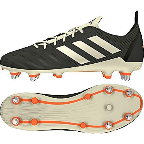 adidas Malice (SG), Botas de Rugby Hombre, NEGBÁS/ROSSEN/Balcri, 46 EU