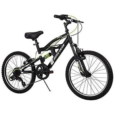 Royce Union Kids Aluminum Mountain Bike, Boys, Dual Suspension, 6-Speed 20inch, RTX by Royce Union