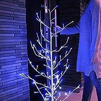 ブランチツリー led ホワイト120cm LEDツリー クリスマスツリー イルミネーション ライト 飾り おしゃれ コンセント 玄関 リビング インテリア 白樺