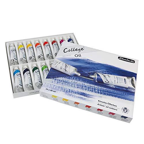 Schmincke College Karton-Set 16 x 35 ml Öl 85 001 097 Ölfarben Set