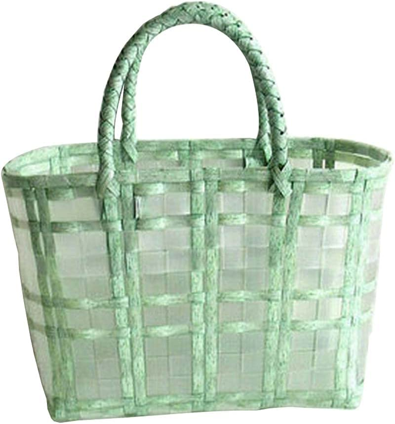 24station Cheap SALE Start Retro Woven Shopping Basket Bag Bask Tote Popularity Shower