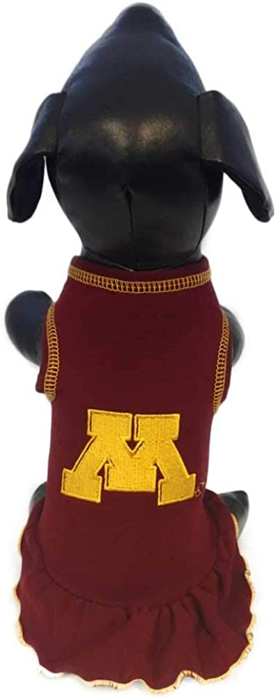 NCAA Large special price Minnesota Golden Gophers Cheerleader NEW before selling ☆ Dress Dog