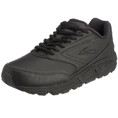 Brooks Mens Addiction Walker Walking Shoe - Black - B - 9.0