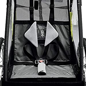 Deluxe Steel 1-Child Bicycle Trailer and Stroller