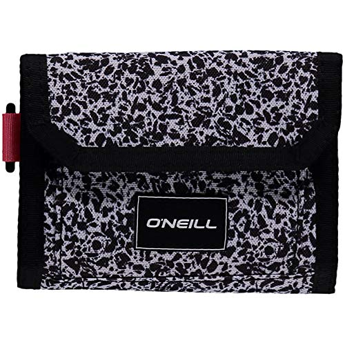 O'Neill heren portemonnee Pocketbook Wallet, Black AOP W/White, One size