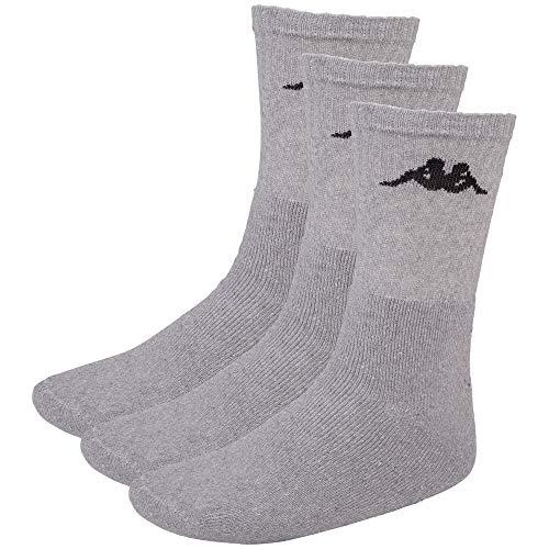 Kappa SONOTU Socken, 3er pack, 19M grey melange, 43-46