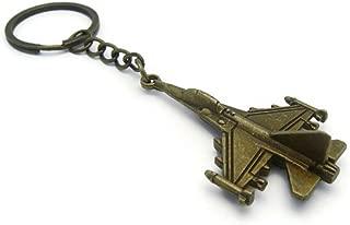 K-56 Design Classic Airplane Aviation Aircraft Style Metal Pendant Keychain Key Ring (Brass), KBB1