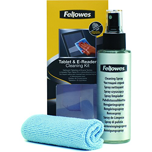 Fellowes 9930501 8041601 - Kit limpiador para tablet, Pc y libros electrónicos, Multicolor