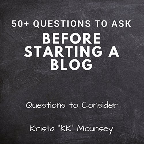 50+ Questions to Ask Before Starting a Blog Titelbild