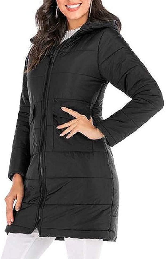 LSAltd Women Puffer Coat Winter Hoodies Quilted Padded Zip Up Puffer Down Jacket