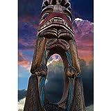 DENGZ Tribal Totem Pole Series Rompecabezas Adultos Niños Desafíos Intelectuales Altamente Difíciles Juguetes De Entretenimiento Madera 500/1000/1500/2000 Piezas (Color : Partition, Size : 500 pcs)