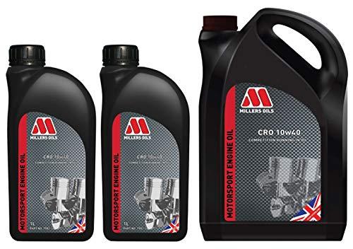 Millers Oil CRO 10W40 Competition Huile minérale à courir 7 litres