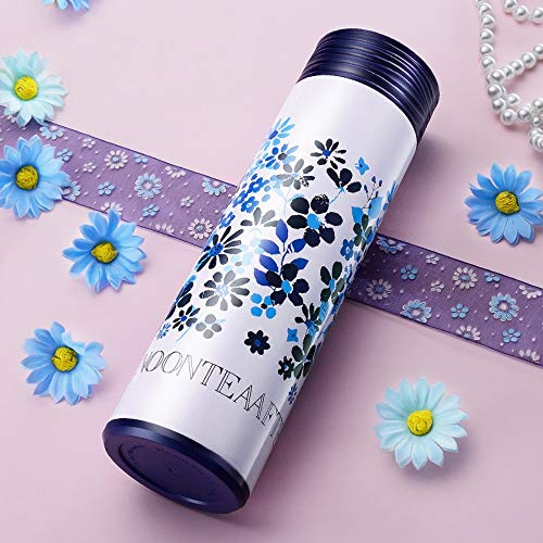 YOPGK Wärmeisolierung Isolierflaschen Tee-Ei Wasserflasche Doppelwandig 304 Edelstahl Wasserkocher Thermoskanne Tasse, D
