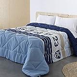 Barceló Hogar - Edredón Comforter Reversible Michigan - Edredón Estampado de 350 gr, Edredón Juvenil 200x270, Edredón nórdico Cama 105 Invierno