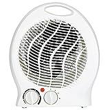 Slabo riscaldatore Elettrico Ventilatore riscaldatore 2000W riscaldatore radiante riscaldatore 2X stadi di Riscaldamento (1000/2000W)   1x Ventilatore Stadio Freddo   riscaldatore rapido - Bianco