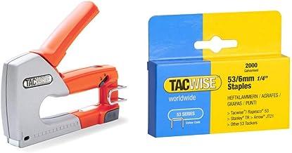 Set Piezas Tacwise 0346 Grapas serie de 140 x 8 mm caja de 2000 unidades 8 mm