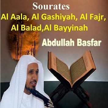 Sourates Al Aala, Al Gashiyah, Al Fajr, Al Balad, Al Bayyinah (Quran - Coran - Islam)