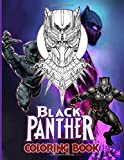 Black Panther Coloring Book: Crayola Relaxation Coloring Books For Kids And Adults Color Wonder Creativity