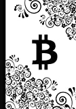 B: Bound paper wallet recovery sheets for writing private passphrase word list mnemonic seed keys in...