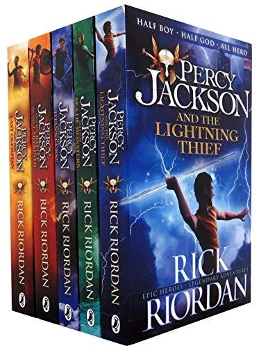 Percy Jackson X 5 Book Set Series Collection 5 Book Set