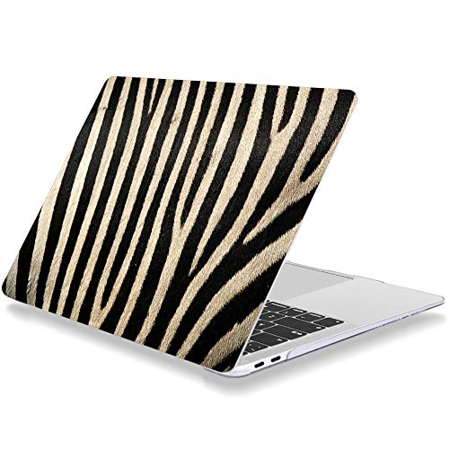 Laptop Case for Macbook Pro 15 Inch 2019 2018 2017 2016 Release A1707 A1990 Plastic Hard Shell Cover Compatible with MacBook Pro 15' with Touch Bar Zebra Pattern Animal