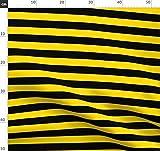 Bienen, Honigbiene, Gelb, Gelb Und Schwarz, Streifen,