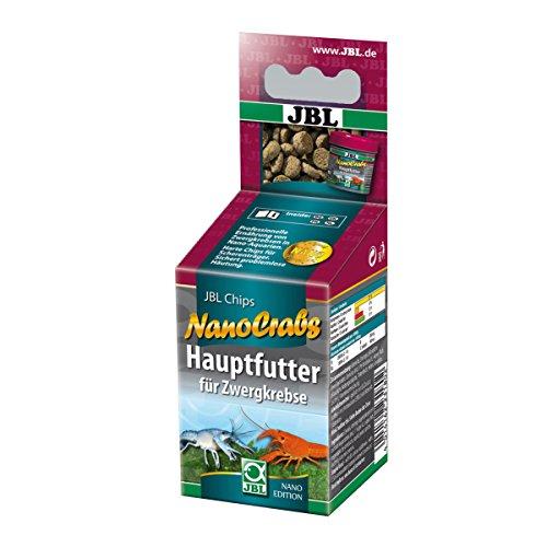 JBL Nano-Crabs 23180 Alleinfutter für Zwergkrebse, Tabletten 60 ml