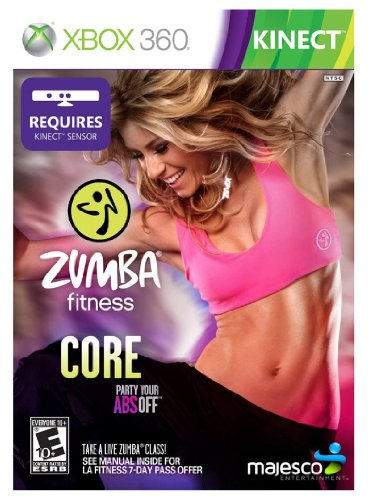 Majesco Zumba Fitness CORE, Xbox 360 Kinect - Juego (Xbox 360 Kinect)
