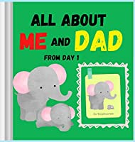 All about me and DAD from day 1: Amazing and comprehensive memory book about you and your Dad ׀ This keepsake book is ideal for any father or grandfather, even those with little writing talent. Color interior