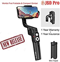 JSD Pro Moza Mini -S - Foldable & Compact - 3 Axis Gimbal for Smartphone & Action Cameras