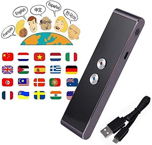Mnjin Für Reisen und Unternehmen Intelligente Sprachübersetzung Travel Learning Business Konferenz Pocket PC Echtzeit-Sprachübersetzer Englisch Chinesisch Französisch Deutsch Japanisch 33 Sp