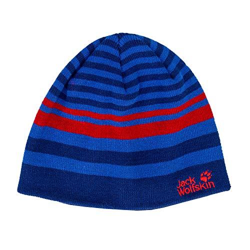 Jack Wolfskin Cross Knit Cap Kids Chapeau, Royal Blue, S Mixte Enfant
