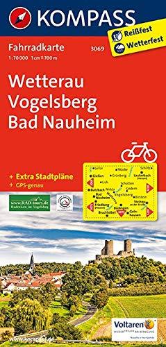 KOMPASS Fahrradkarte Wetterau, Vogelsberg, Bad Nauheim: Fahrradkarte. GPS-genau. 1:70000 (KOMPASS-Fahrradkarten Deutschland, Band 3069)