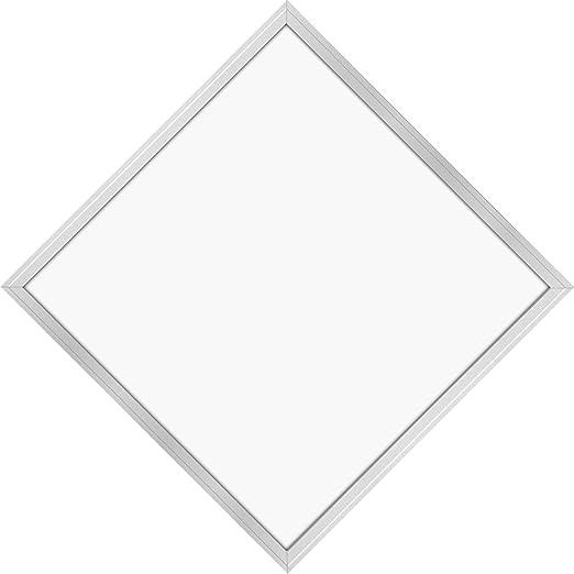 LED Panel Deckenleuchte 62x62cm Kaltweiss 6000K Ultraslim 40W inkl Trafo und Befestigungsmaterial f/ür Systemdecken wie Odenwalddecke Rasterleuchten Einlegeleuchte B/üroleuchten