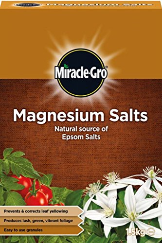Miracle-Gro Magnesium Salts Natural Source of Epsom Salts 1.5kg