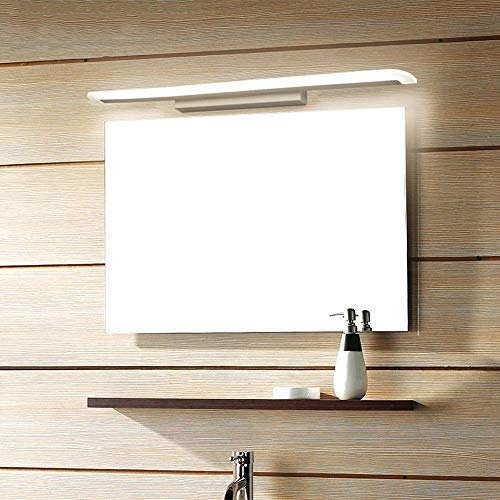 The only Good quality Decoratie Moderne acryl frontspiegellamp badkamer make-up wandlampen LED Vanity Wc wandlampen lamp, 60 cm 12 Watt, warm wit (2700-3500 karaat) Villa