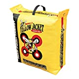 Morrell Yellow Jacket 19 Pound Portable Stinger Adult Field Point Archery Bag Target with 2 Shooting Sides, 10 Bullseyes, and Carry Handle, Yellow